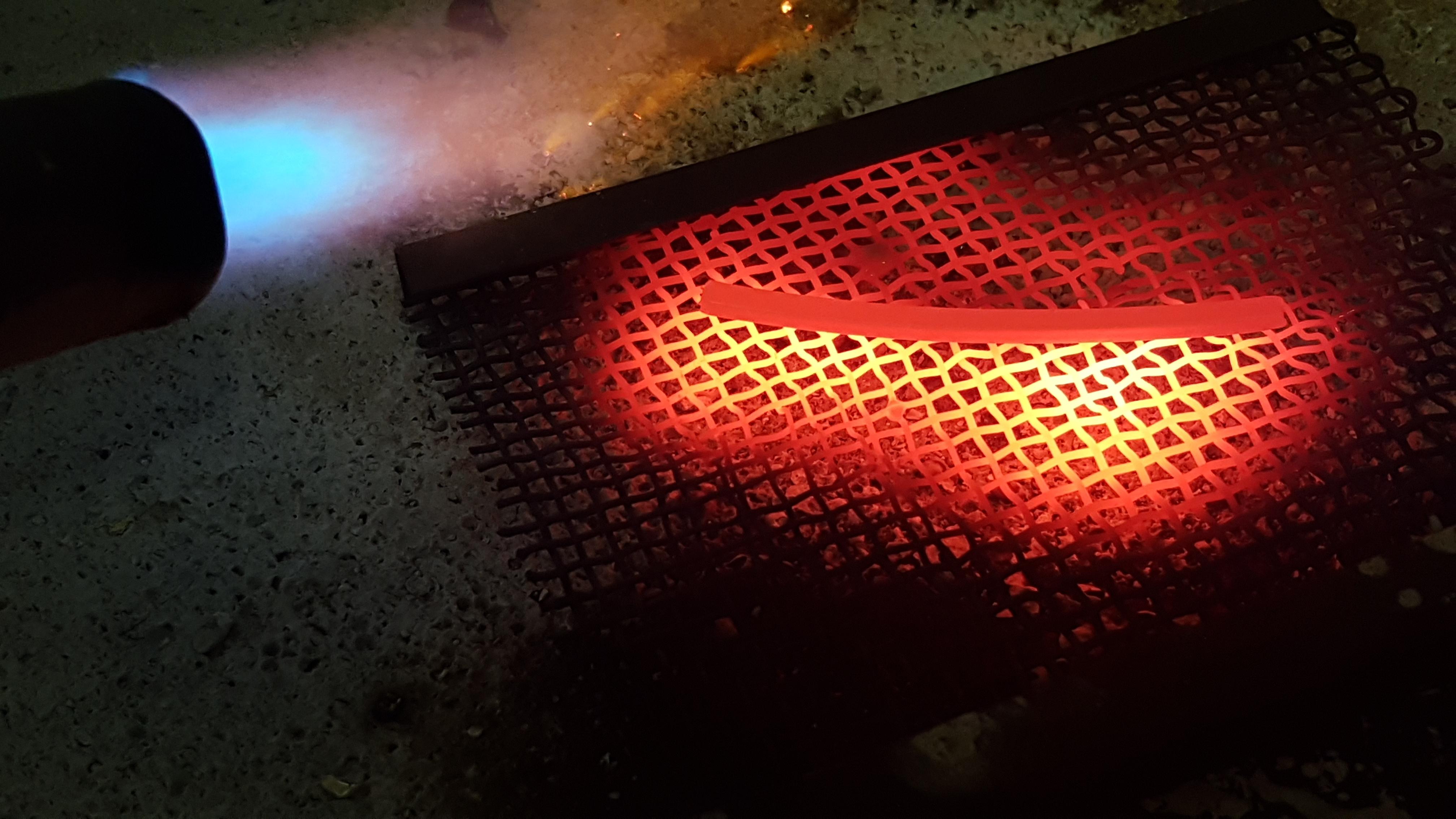 Glühen des Materials